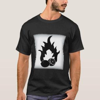 Brennbare Zitronen T-Shirt