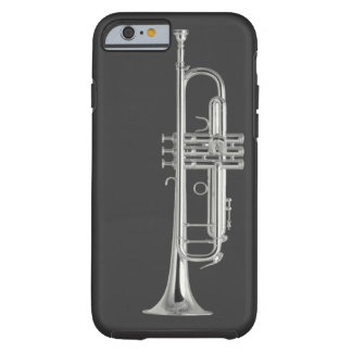 Brennen Sie den Trompetekasten durch Tough iPhone 6 Hülle