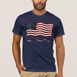 Brennen Sie diese Flagge T-Shirt