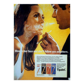 Brennen Sie es in ihrem Gesicht durch und sie folg Poster
