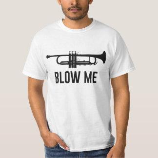 Brennen Sie mich Trompete durch T-Shirts