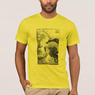 Brennende Drache-Augen T-Shirt