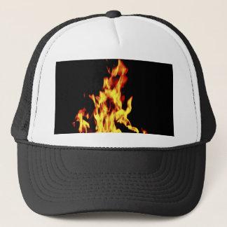 Brennende Hutkappe Truckerkappe
