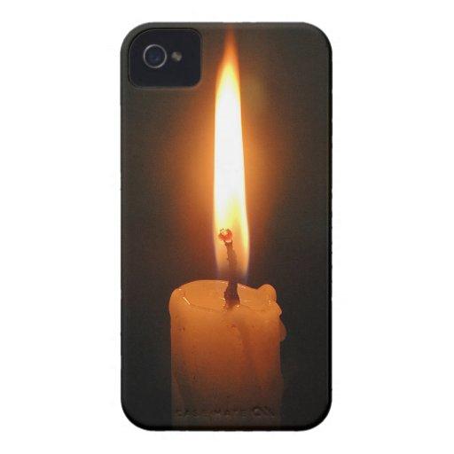 brennende kerze case mate iphone 4 h llen zazzle. Black Bedroom Furniture Sets. Home Design Ideas