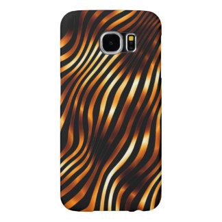 Brennende Tiger-Streifen