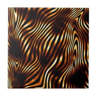 Brennende Tiger-Streifen Keramikfliese