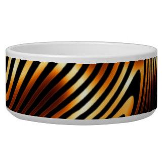 Brennende Tiger-Streifen Napf
