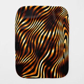 Brennende Tiger-Streifen Spucktuch