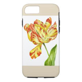 Brennende Tulpe auf einem iPhone Fall iPhone 8/7 Hülle