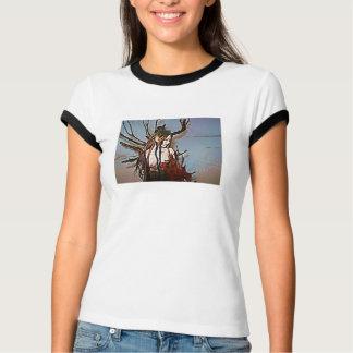Brennender Baum T-Shirt