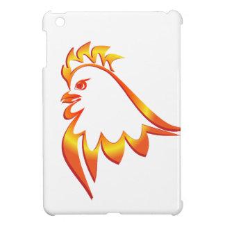 Brennender Hahn iPad Mini Hülle