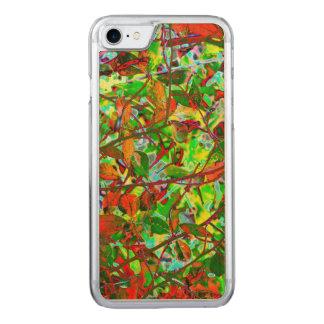 Brennender Herbstlaub Carved iPhone 8/7 Hülle