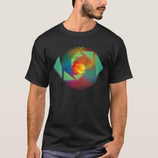 Brennender Löwe-T - Shirt