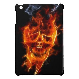 Brennender Schädel Hülle Für iPad Mini
