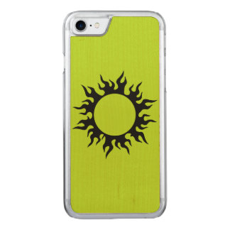 Brennender Sun Carved iPhone 8/7 Hülle