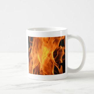 Brennendes Feuer - coole Flammen Kaffeetasse