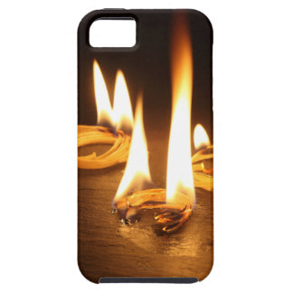 Brennendes Kindlings Tough iPhone 5 Hülle