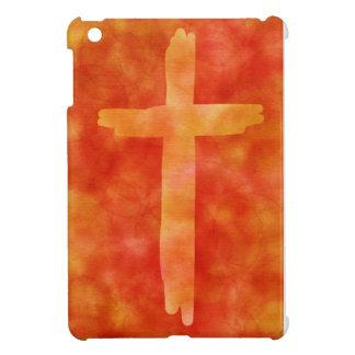 brennendes Kreuz iPad Mini Hülle
