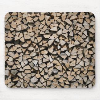 Brennholz Mauspad