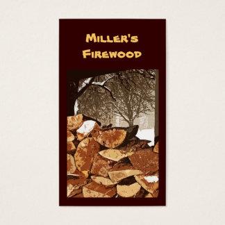 Brennholz Visitenkarte