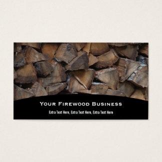 Brennholz-Visitenkarte Visitenkarten
