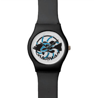 Brent-Händler-Fischen-Logo Handuhr