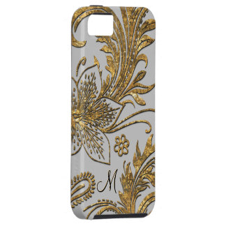 Breselcoucant Tauben-elegantes Blumen Tough iPhone 5 Hülle