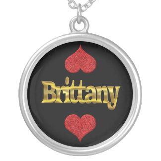 Bretagne-Halskette Versilberte Kette