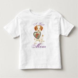 Bretagne-Herz-Mamma Kleinkind T-shirt