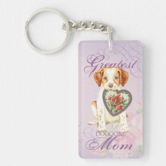 Bretagne-Herz-Mamma Schlüsselanhänger