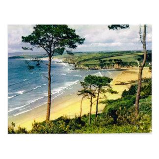 Bretagne, Küstenlinie Postkarte
