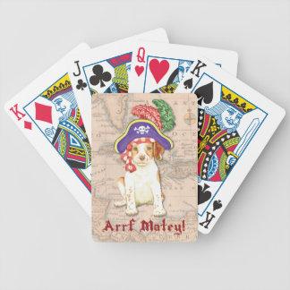 Bretagne-Pirat Bicycle Spielkarten