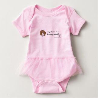 Bretagnespaniel Baby Strampler