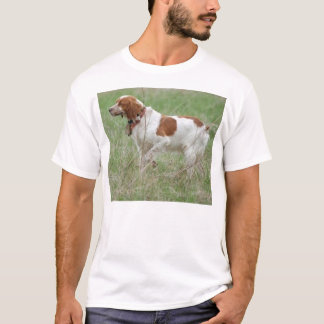 Bretagnespaniel pointing.png T-Shirt