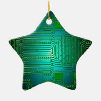 Bretleiterstromkreise Keramik Ornament