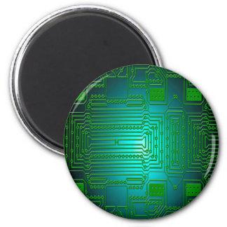 Bretleiterstromkreise Runder Magnet 5,1 Cm