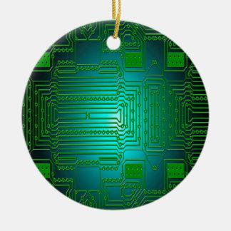 Bretleiterstromkreise Rundes Keramik Ornament