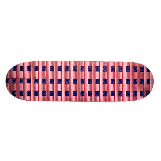 """Brett """"der ersten afrikanischen Flagge"""" Personalisierte Skateboards"""