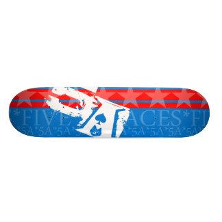Brett der Flaggen-5A Personalisiertes Skatedeck