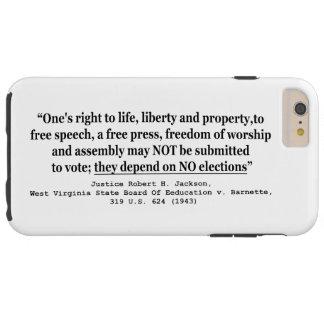 Brett W Virginia von Ed. V Barnett 319 US 624 1943 Tough iPhone 6 Plus Hülle