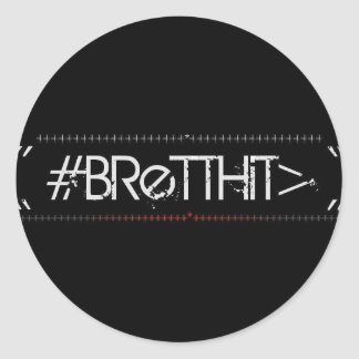BrettHit Sticker (Rounded)