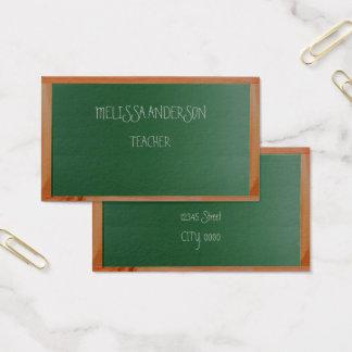 Brettlehrer Visitenkarte