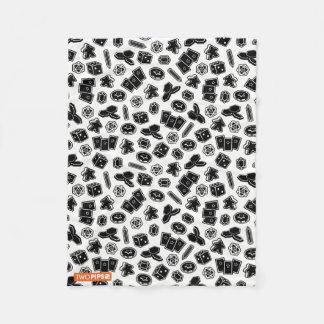 Brettspiel-Muster-Decke Fleecedecke