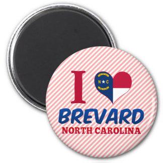 Brevard, North Carolina Runder Magnet 5,1 Cm