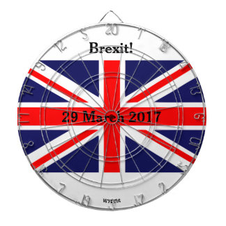 Brexit Briten Dartscheibe