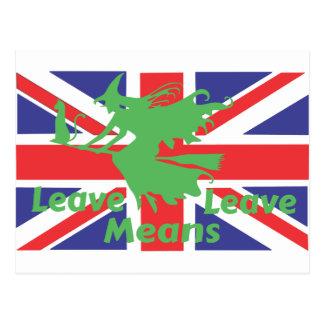 brexit postkarte
