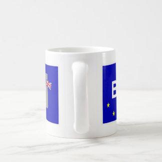 Brexit Zeichen Kaffeetasse