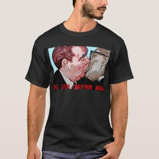 Brezhnev- u. Honecker-Kuss, Ostseiten-Galerie, T-Shirt