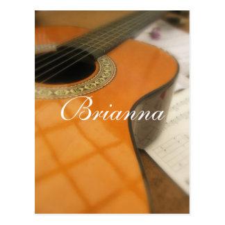 Brianna Postkarte