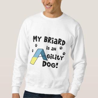 Briard Agility-Hund Sweatshirt